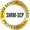 SHRM Senior Certified Professional badge